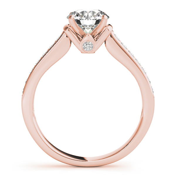 18K Rose Gold Engagement Ring Image 2 Atlanta West Jewelry Douglasville, GA