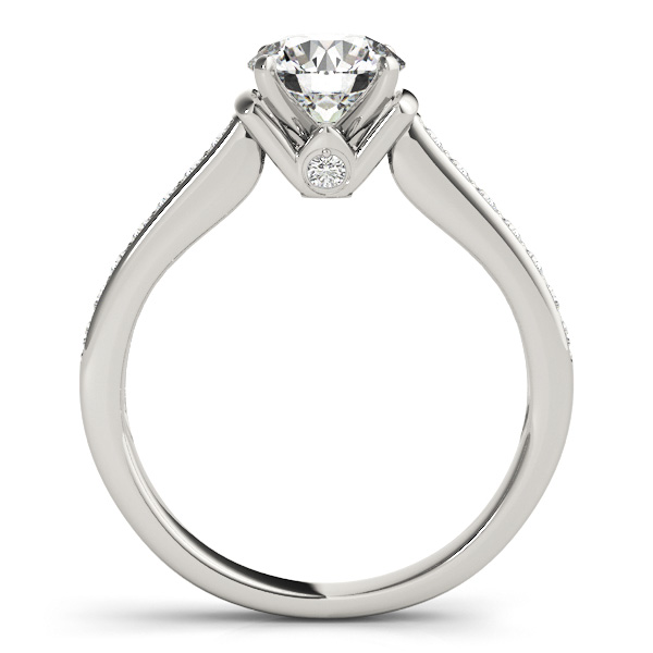 14K White Gold Engagement Ring Image 2 Atlanta West Jewelry Douglasville, GA