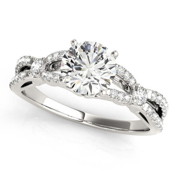 10K White Gold Engagement Ring Douglas Diamonds Faribault, MN