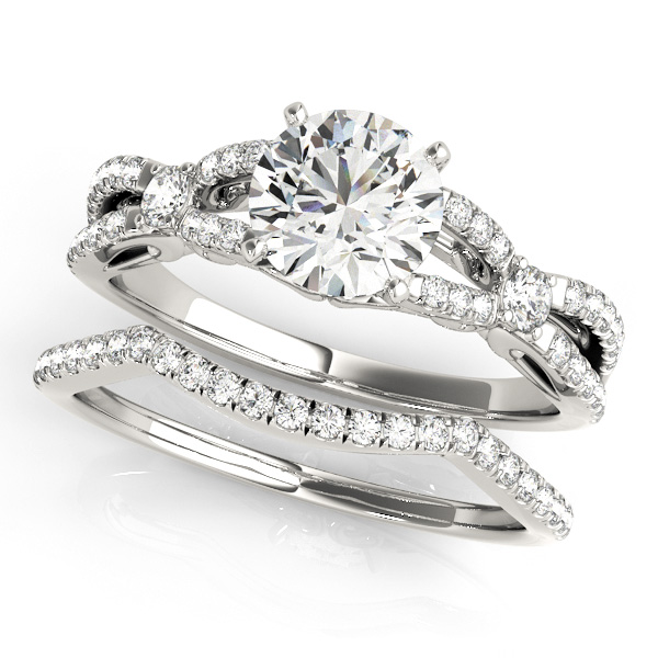 Platinum Engagement Ring Image 3 Atlanta West Jewelry Douglasville, GA