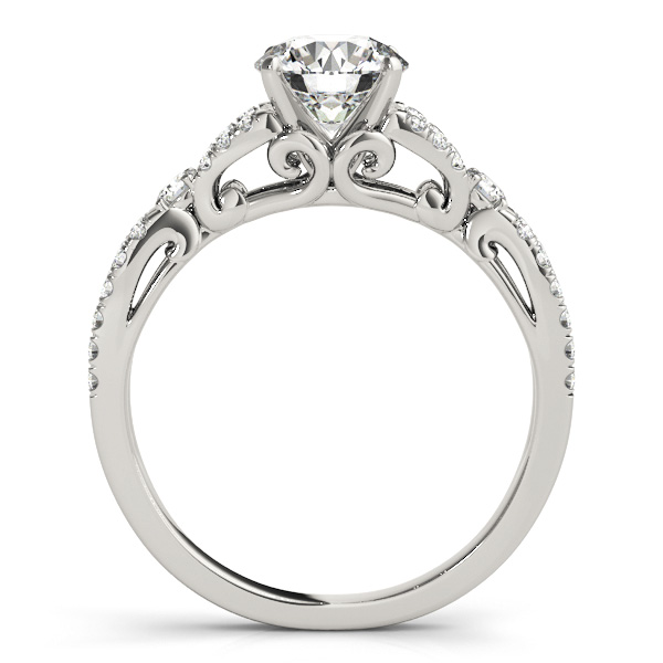 10K White Gold Engagement Ring Image 2 Douglas Diamonds Faribault, MN