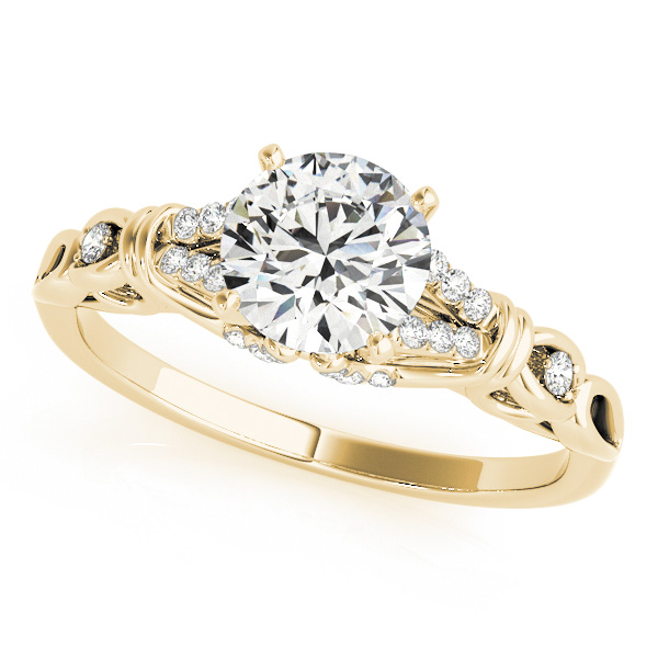 14K Yellow Gold Engagement Ring Douglas Diamonds Faribault, MN