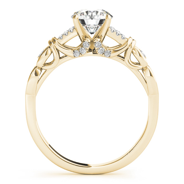 14K Yellow Gold Engagement Ring Image 2 Douglas Diamonds Faribault, MN