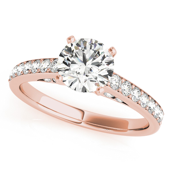 10K Rose Gold Engagement Ring Douglas Diamonds Faribault, MN