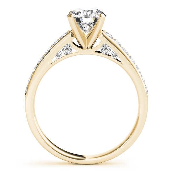 18K Yellow Gold Engagement Ring Image 2 Atlanta West Jewelry Douglasville, GA