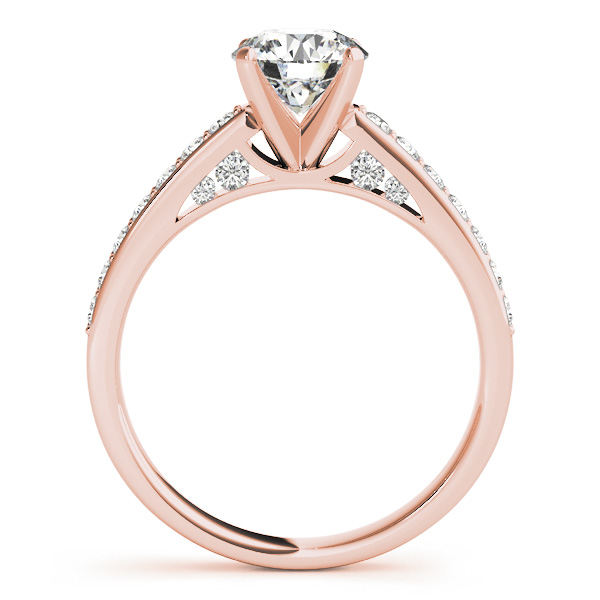 10K Rose Gold Engagement Ring Image 2 Douglas Diamonds Faribault, MN