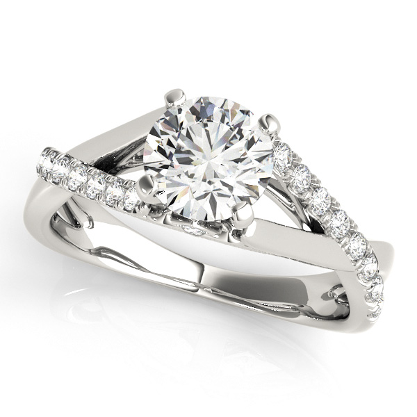 14K White Gold Engagement Ring Atlanta West Jewelry Douglasville, GA