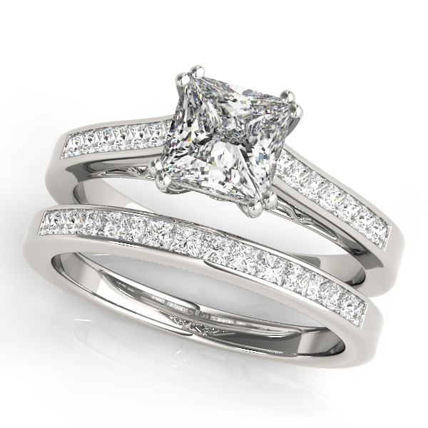 18K White Gold Engagement Ring Image 3 Atlanta West Jewelry Douglasville, GA