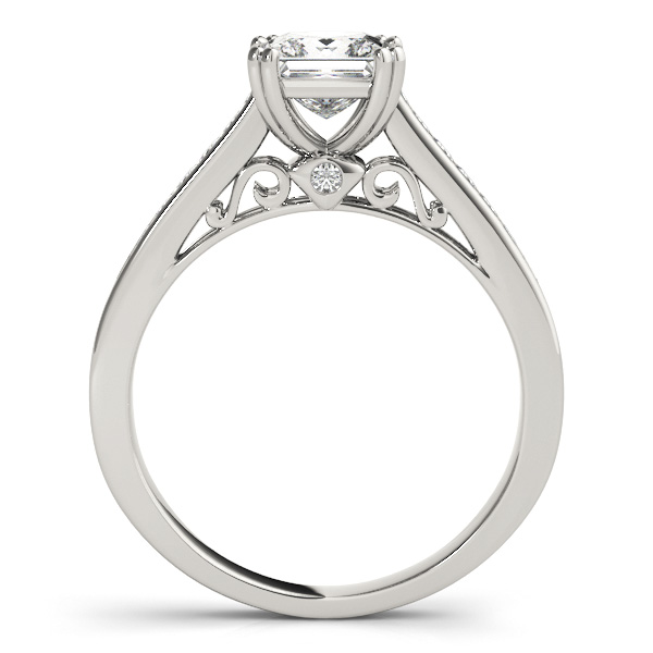 18K White Gold Engagement Ring Image 2 Atlanta West Jewelry Douglasville, GA