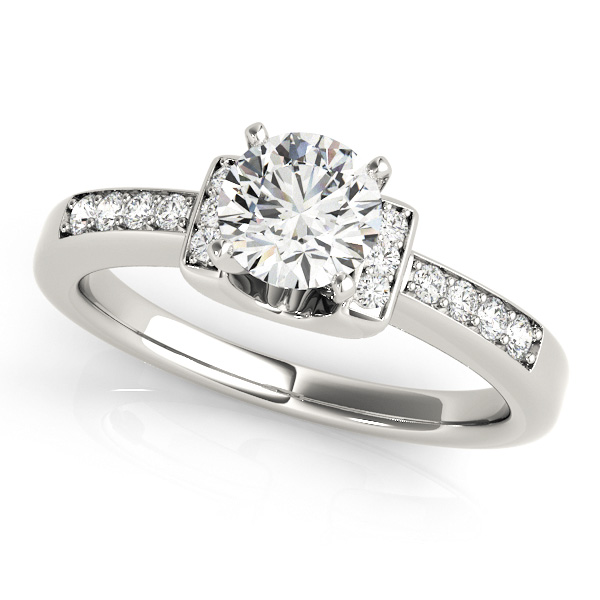 18K White Gold Engagement Ring Atlanta West Jewelry Douglasville, GA