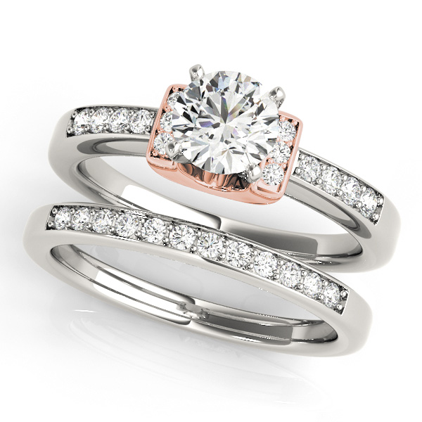 14K Rose Gold Engagement Ring Image 3 Douglas Diamonds Faribault, MN