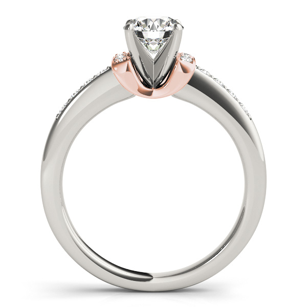 14K Rose Gold Engagement Ring Image 2 Douglas Diamonds Faribault, MN