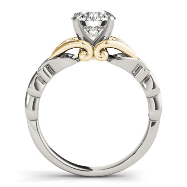 10K Yellow Gold Engagement Ring Image 2  ,