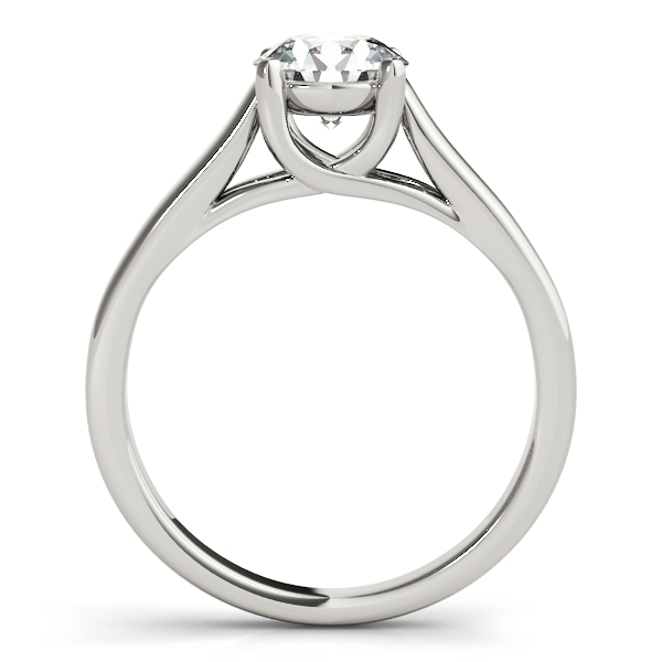 14K White Gold Trellis Engagement Ring Image 2 Atlanta West Jewelry Douglasville, GA
