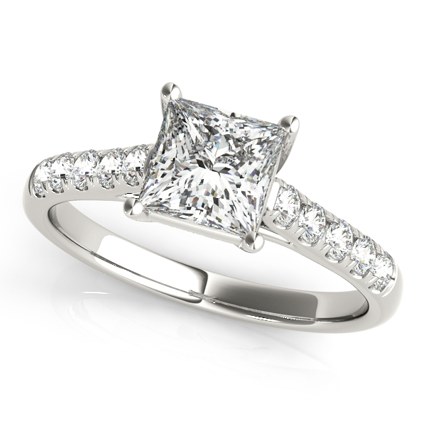 Platinum Trellis Engagement Ring Douglas Diamonds Faribault, MN