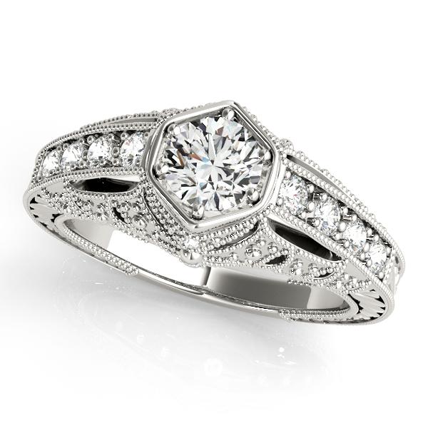 Overnight Platinum Antique Engagement Ring 84519 Pl James Douglas Jewelers Llc Monroeville Pa