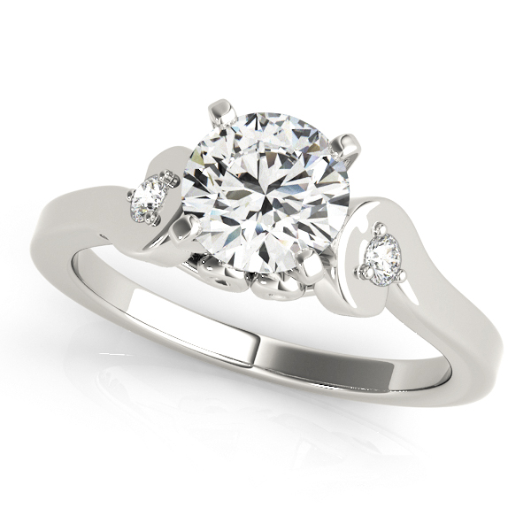 Platinum Three-Stone Engagement Ring by Overnight