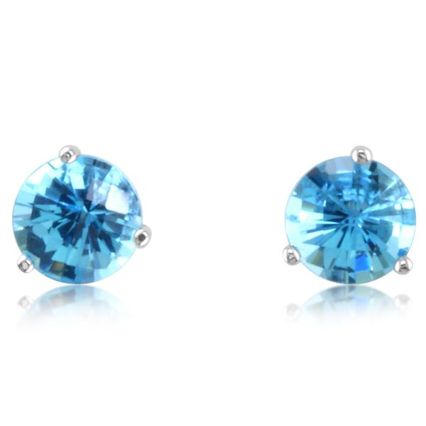 White Gold Topaz Earrings Towne & Country Jewelers Westborough, MA