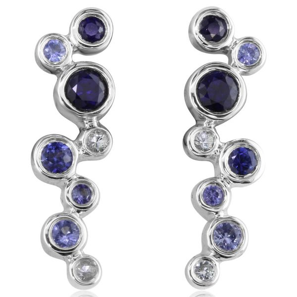White Gold Sapphire Earrings Towne & Country Jewelers Westborough, MA