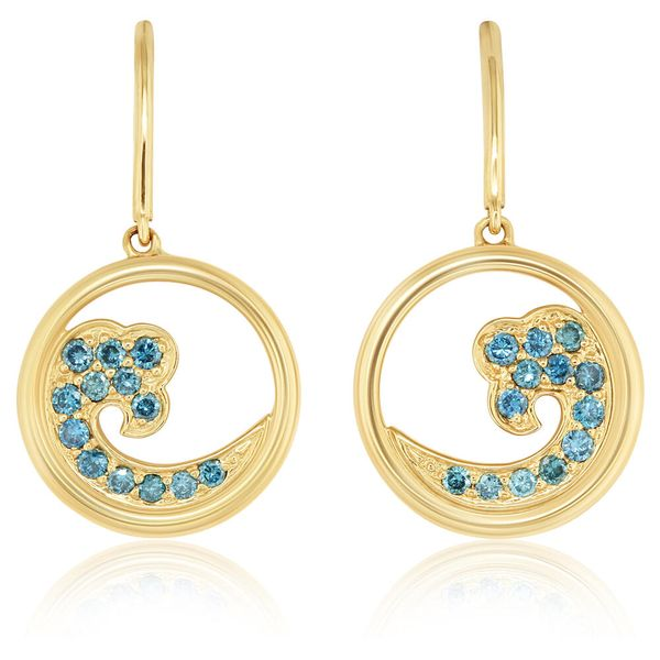 Yellow Gold Diamond Earrings Bijoux Fine Jewelers Sulphur, LA