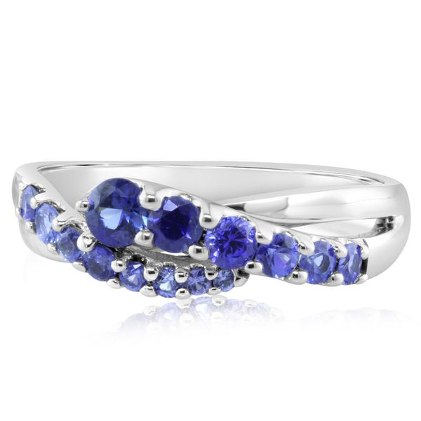 White Gold Sapphire Ring Towne & Country Jewelers Westborough, MA