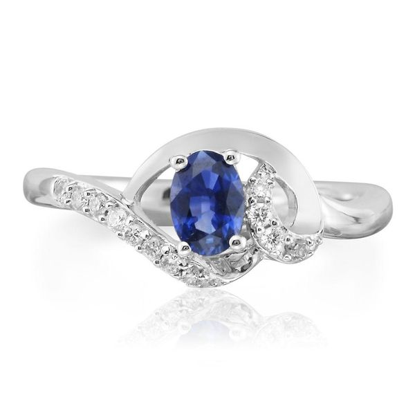 White Gold Sapphire Ring The Jewelry Source El Segundo, CA
