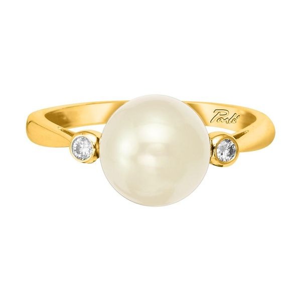 Yellow Gold Cultured Pearl Ring The Jewelry Source El Segundo, CA