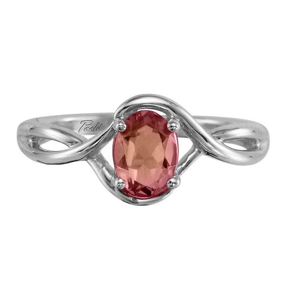 White Gold Pink Tourmaline Ring Towne & Country Jewelers Westborough, MA