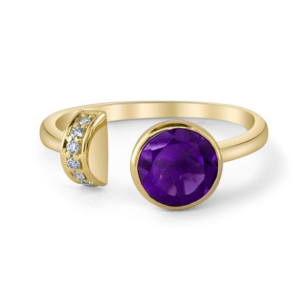 Yellow Gold Amethyst Ring The Jewelry Source El Segundo, CA