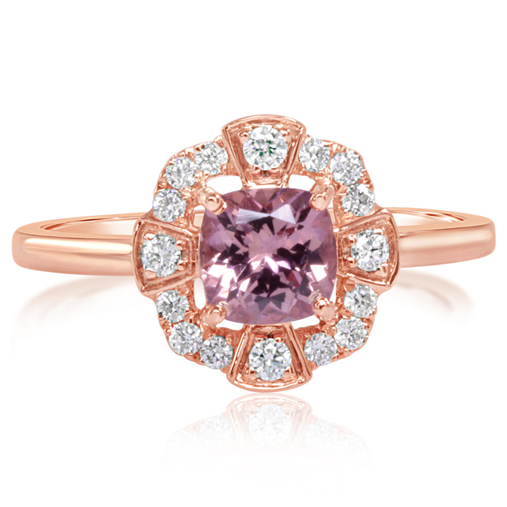 Rose Gold Lotus Garnet Ring Bijoux Fine Jewelers Sulphur, LA