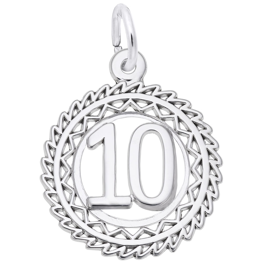 Number 10 by Rembrandt Charms