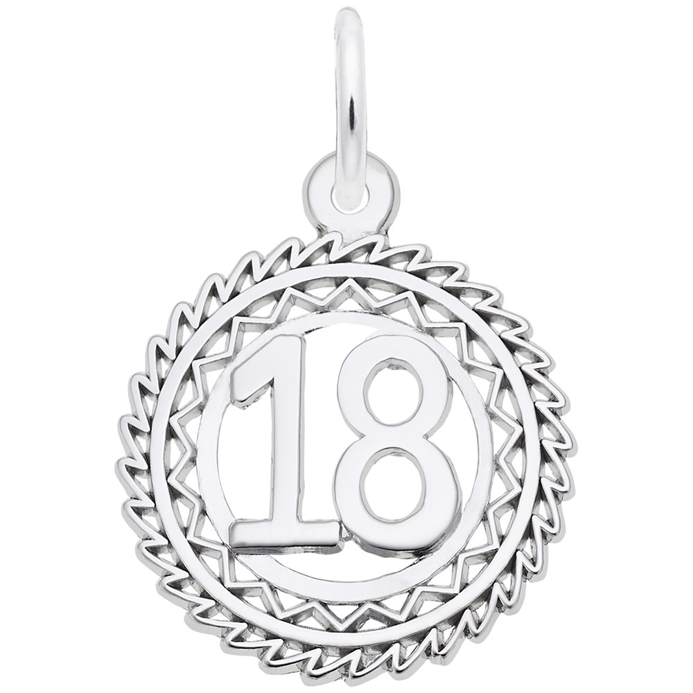 Number 18 by Rembrandt Charms