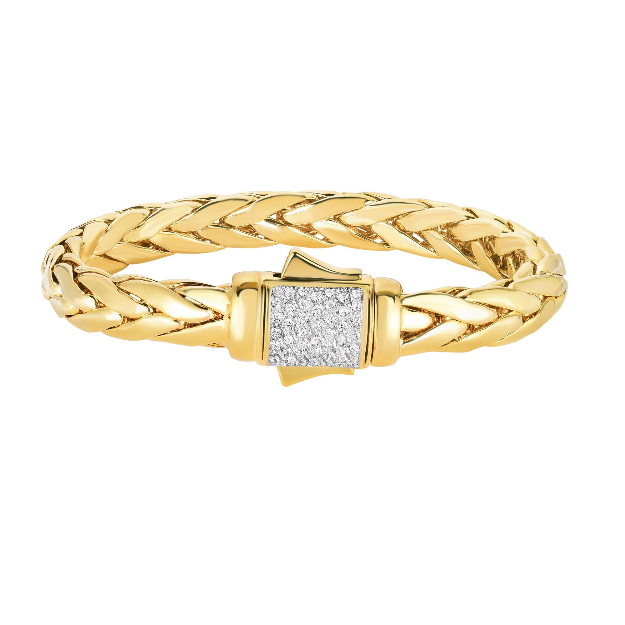 14K Yellow Gold Bracelet James Wolf Jewelers Mason, OH