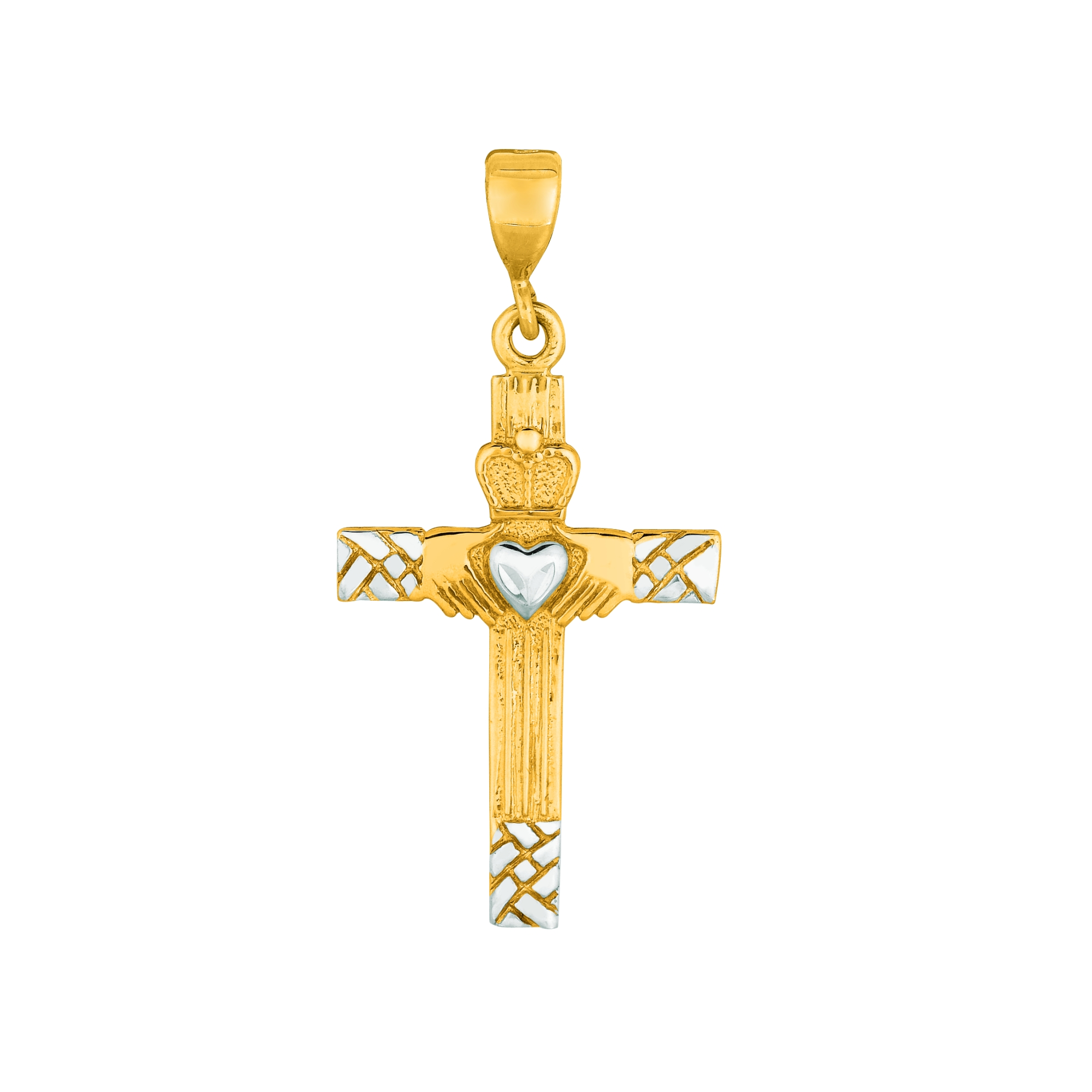 14K Yellow & White Gold Pendant Grogan Jewelers Florence, AL