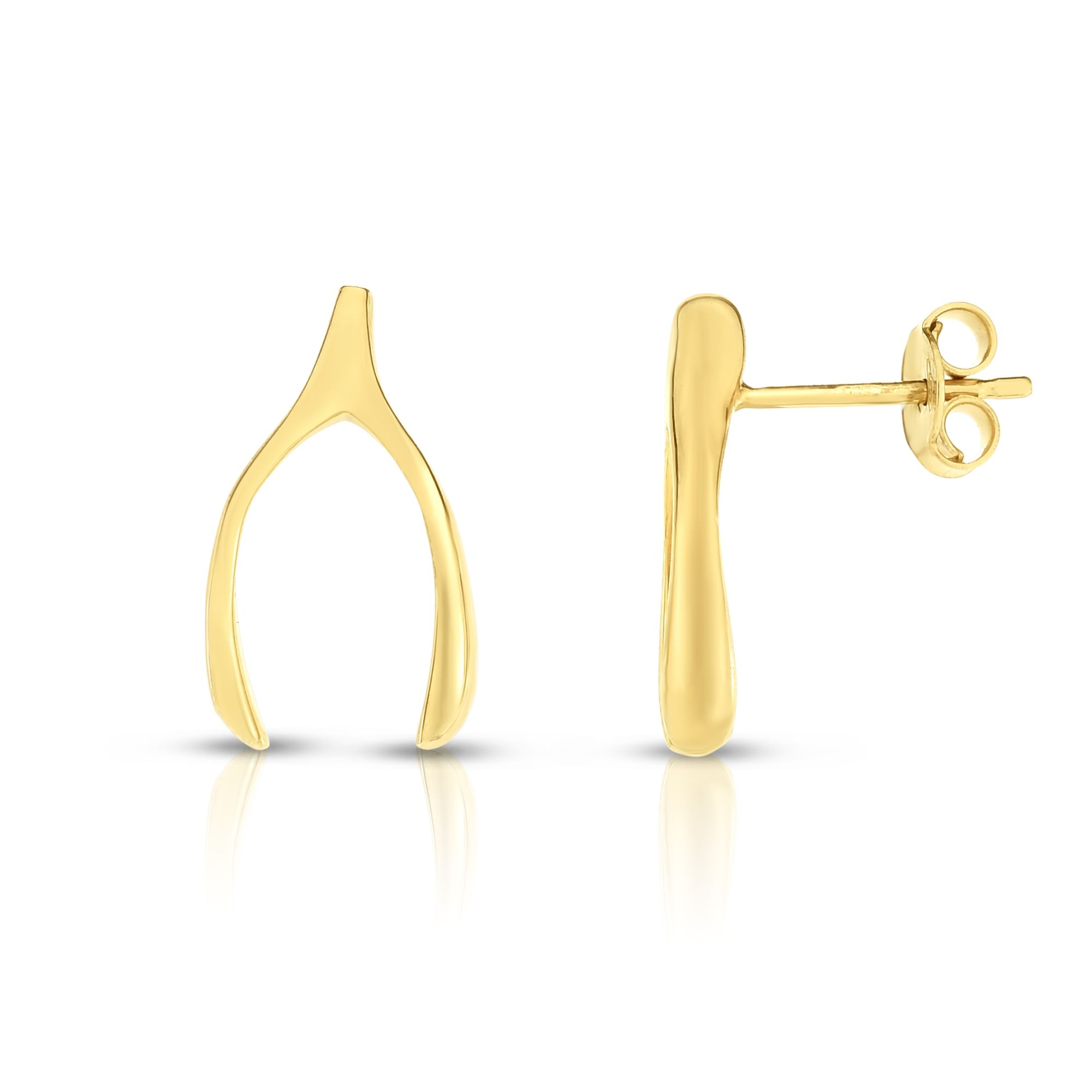 14K Yellow Gold Earring Wyatt's Jewelers Seattle, WA