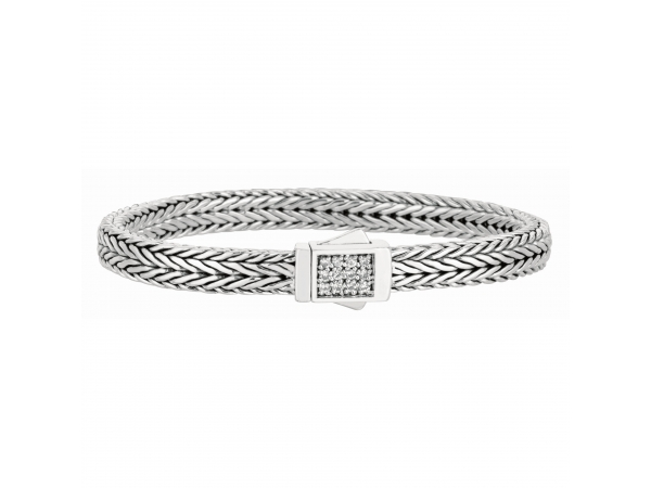 Phillip Gavriel Woven Silver Bracelet Adair Jewelers  Missoula, MT
