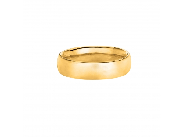 14K Wedding Band by Royal Chain