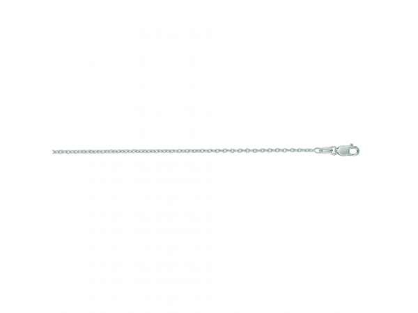 14K White Gold Chain by Royal Chain