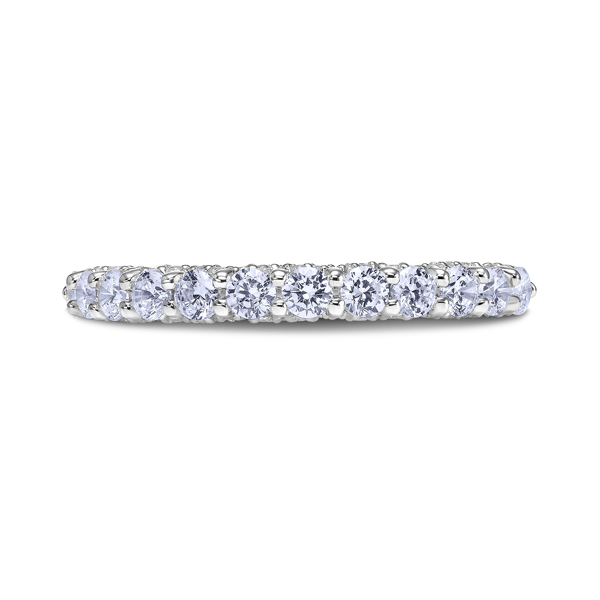 "Ladies Wedding Bands - Platinum ""Heaven's Gates"" Ladies Diamond Wedding Band"
