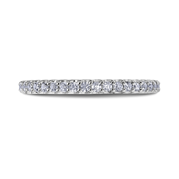 "Ladies' Wedding Rings - 14K ""Heaven's Gates"" Ladies Diamond Wedding Band"