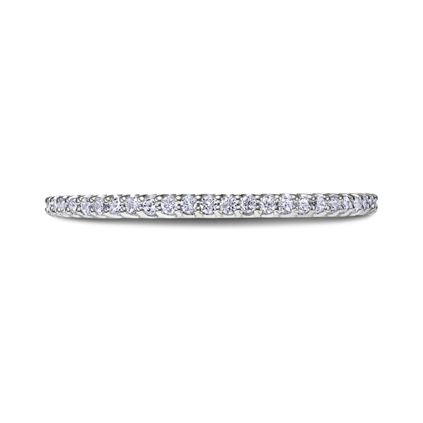 "Ladies Wedding Bands - 18K ""Heaven's Gates"" Ladies Diamond Wedding Band"