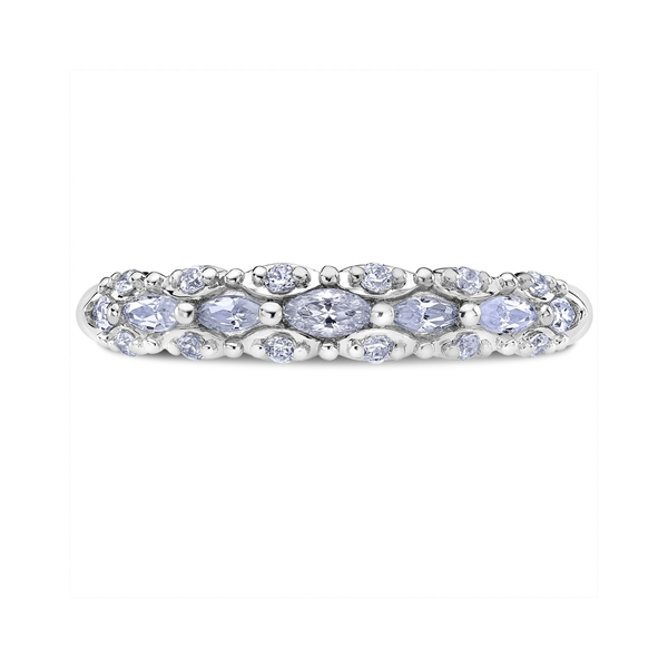 "Ladies' Wedding Rings - 14K ""Luminaire"" Ladies Diamond Wedding Band"