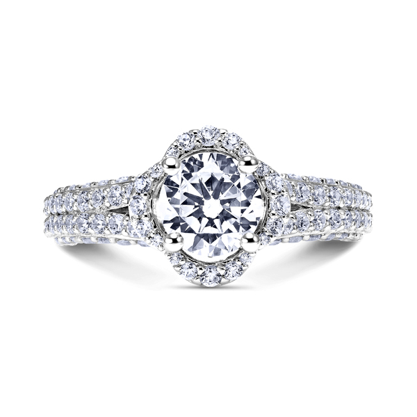 Designer Engagement Ring available at Skatells Jewelers.   Over 1,000 styles to choose from.
