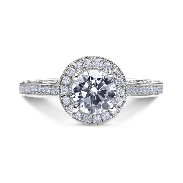 "18K ""Parisi"" Diamond Engagement Ring by Scott Kay"