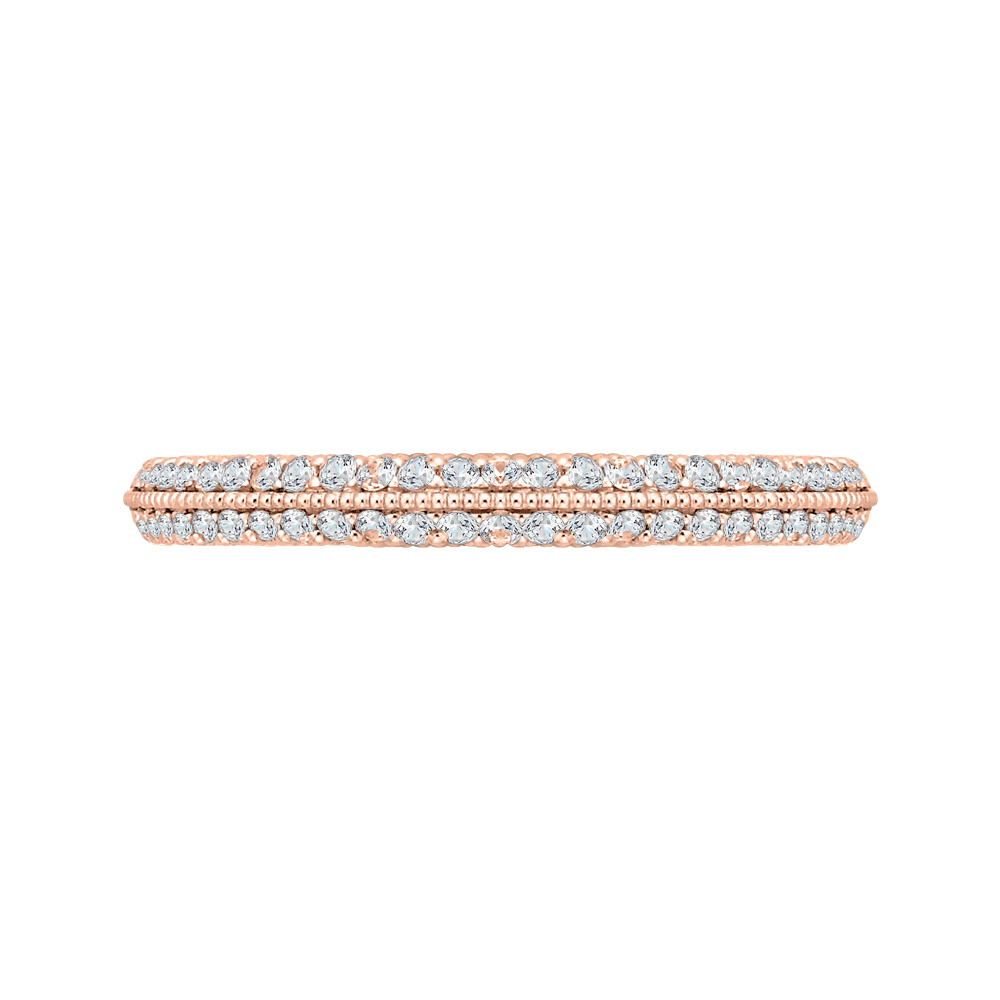 18K Rose Gold Ladies Wedding Band The Stone Jewelers Boone, NC