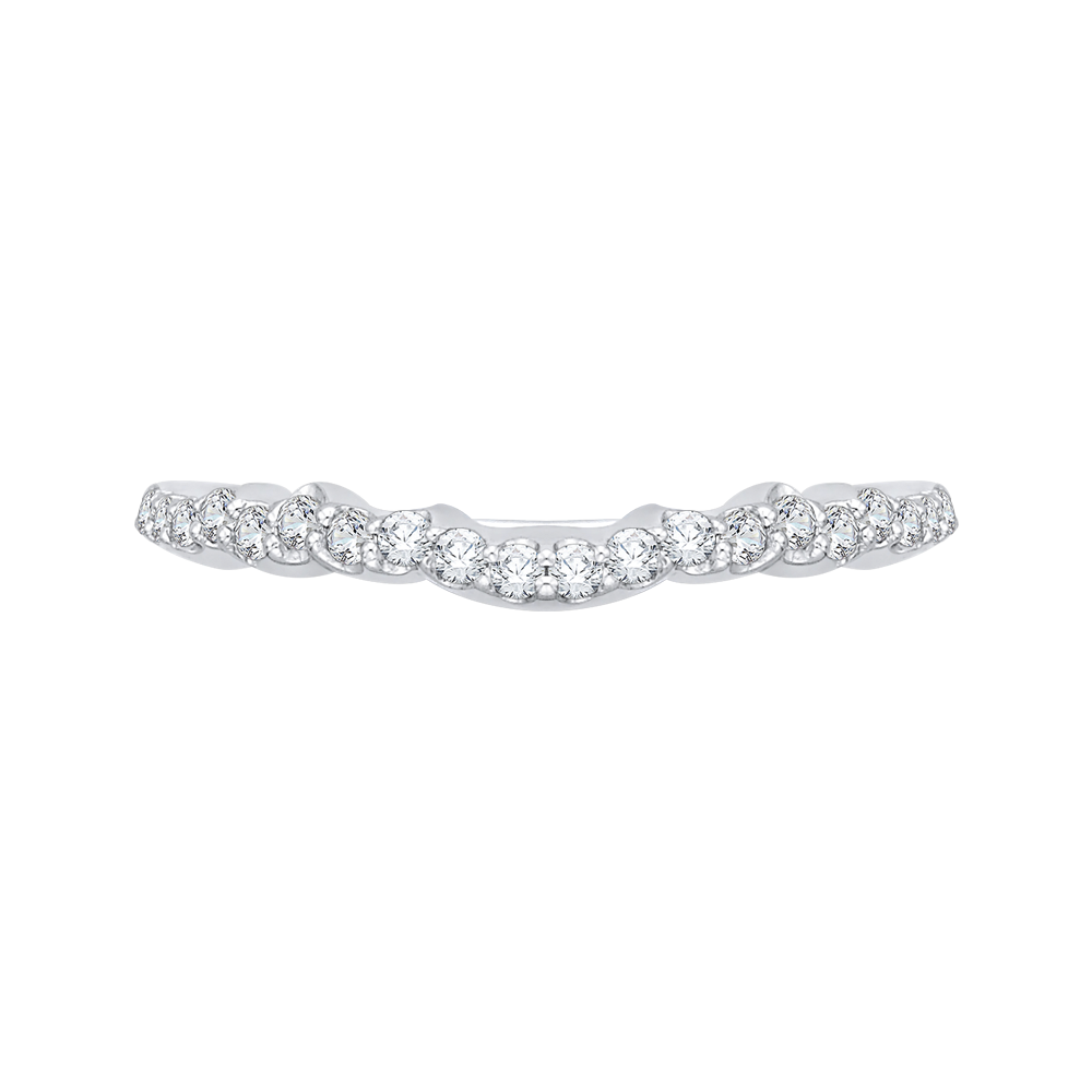 18K White Gold Ladies Wedding Band The Stone Jewelers Boone, NC