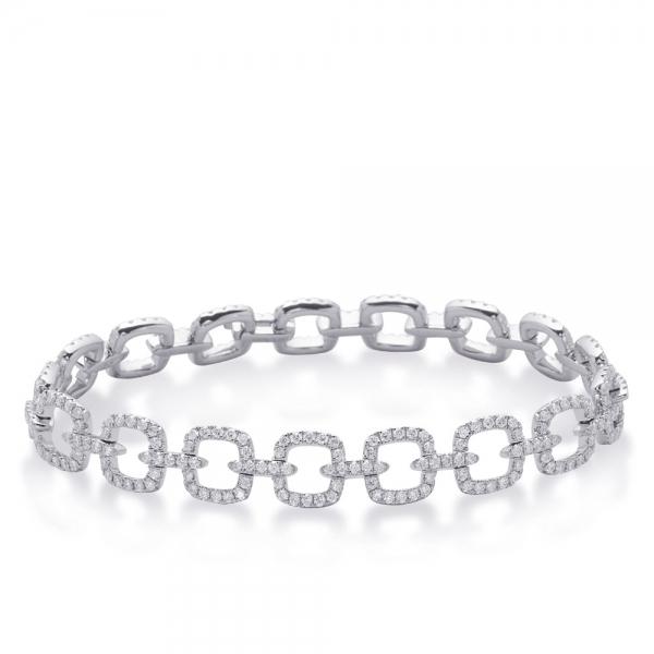 Gold Diamond Bracelet B4417wg