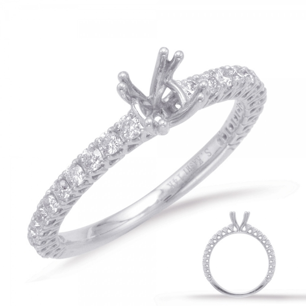 White Gold Engagement Ring En7722 75wg Engagement Rings From