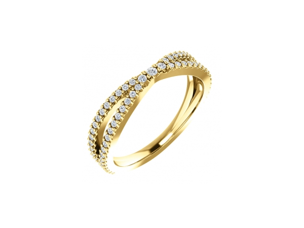 14K Yellow Gold Anniversary Band by Stuller