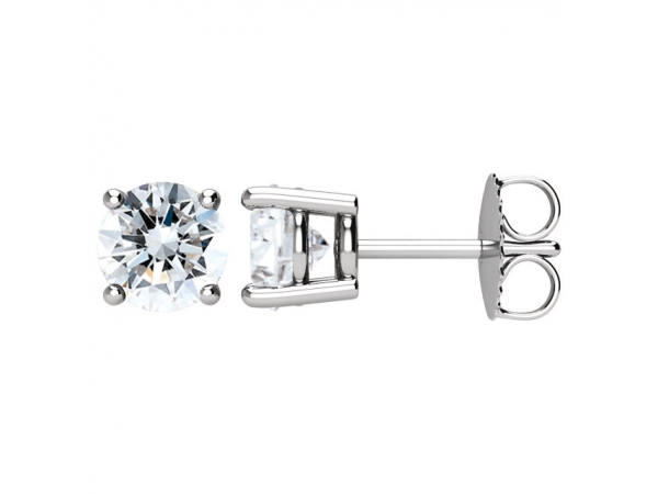 Diamond Earrings - Genuine Diamond Earrings